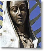 The Lady Prays Metal Print by Terry Rowe