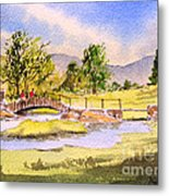 The Lake District - Slater Bridge Metal Print