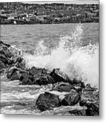 The Lake Metal Print by John Ressler