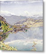 The Lake Of Lucerne, Mount Pilatus Metal Print