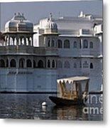 The Lake Palace, India Metal Print