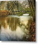 The Lambro River Metal Print
