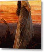 The Lament Of Jephthahs Daughter Metal Print
