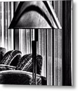 The Lamp In The Lobby Metal Print