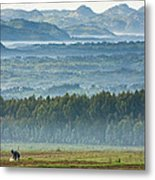 The Land Of A Thousand Hills Metal Print