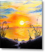 The Land Of The Dying Sun Metal Print