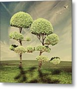 The Land Of The Lollipop Trees Metal Print