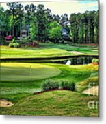 The Landing At Reynolds Plantation Metal Print