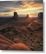 The Landscape Of My Dreams Metal Print