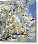 The Language Of Spring Metal Print