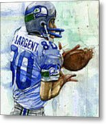 The Largent Metal Print by Michael  Pattison