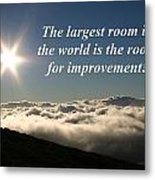 The Largest Room In The World Metal Print