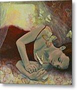 The Last Dream Before Dawn Metal Print by Dorina  Costras
