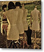 The Last Fashion Show- Old Mannequins Metal Print
