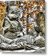 The Last Full Measure - Gettysburg National Military Park Autumn Metal Print