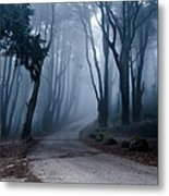 The Last Road Metal Print