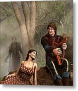 The Last Song Of Tristan Metal Print by Daniel Eskridge