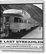 The Last Streamliner Poster Metal Print