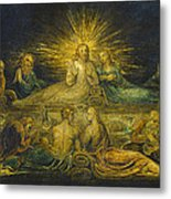 The Last Supper Metal Print by William Blake