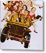 The Last Time I Saw Archie, Front Metal Print