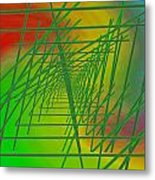 The Latticework 6 Metal Print
