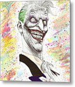 The Laughing Man Metal Print