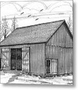 The Lawrence Barn Metal Print