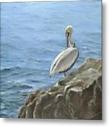 The Lazy Day Bird Metal Print