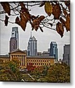 The Leaves Of Philly Metal Print