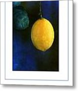 The Lemon Poster Metal Print