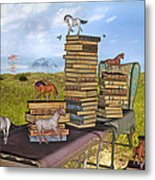 The Library Your Local Treasure Metal Print