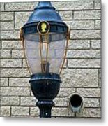 The Light And The Spout Metal Print