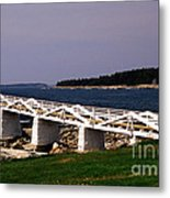 The Light At Marshall Point Metal Print