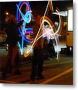 The Light Jugglers Metal Print by Steve Taylor