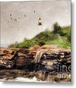 The Light Will Guide You Metal Print