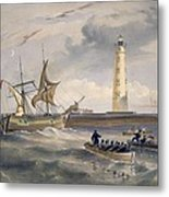 The Lighthouse At Cape Chersonese Metal Print