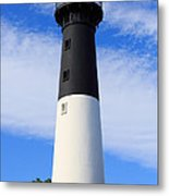 The Lighthouse At Hunting Island State Park In South Carolina Metal Print