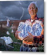 The Lightning Catchers Metal Print by Bryan Allen