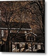 The Lights Went Out In Platte Metal Print