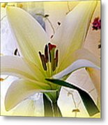 The Lily Metal Print