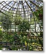The Lincoln Park Conservatory Chicago-001 Metal Print