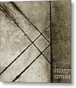 The Lines No. 60 Metal Print