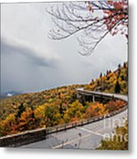 The Linn Cove Viaduct Metal Print