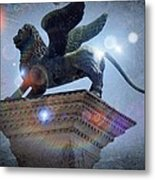 The Lion Of Venice Metal Print