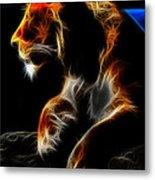 The Lioness Alt Metal Print