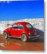 The Little Bug That Could Metal Print
