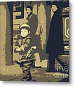 The Little Chinese Soldier Metal Print