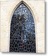 The Little Church Window Metal Print