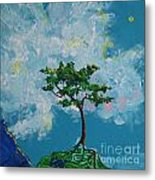 The Little Grove - Little Tree Metal Print