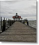 The Little Lighthouse Metal Print